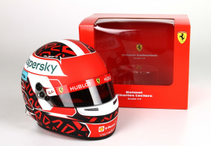 Scuderia Ferrari Mini Helmet Charles Leclerc 2020 1/2