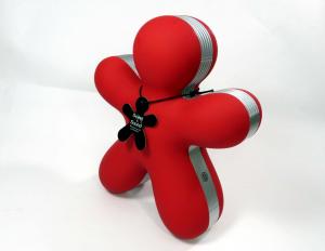 Cassa Bluetooth e profumatore George rosso