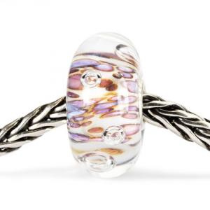 Beads Trollbeads, Cresta di Bolle Viola