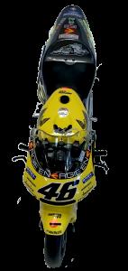 Honda NSR 500 Valentino Rossi Team Nastro Azzurro GP LeMans 2001 1/12