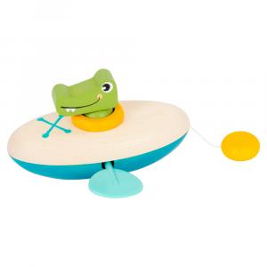 Giocattolo d'acqua Canoa con carica Coccodrillo