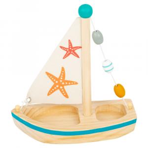Gioco acquatico Barca a vela con stella di mare