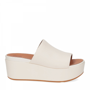Fitflop Eloise leather wedges stone-2