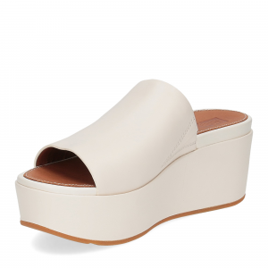Fitflop Eloise leather wedges stone-4