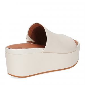 Fitflop Eloise leather wedges stone-5