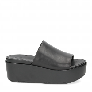 Fitflop Eloise leather wedges all black-2