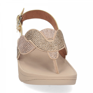 Fitflop Paisley Rope back strap sandals platino-3