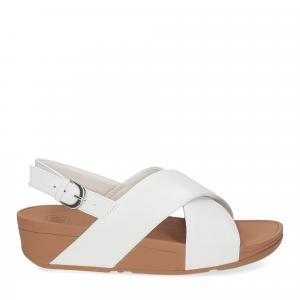 Fitflop Lulu Cross Back strap Sandal urban white-2