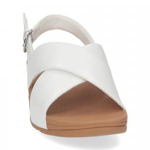 Fitflop Lulu Cross Back strap Sandal urban white-3