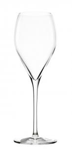 Set 6 pezzi calice flute champagne spumante in vetro cristallino 345 ml cm.23,2h diam.8