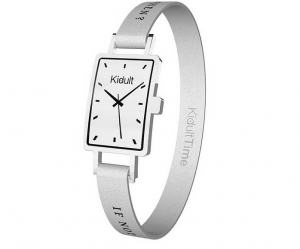 Kidult Bracciale Time Collection, Rettangolare, If not now, when?