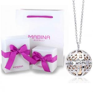 Mabina Collana Argento - Chiama Angeli Made with love