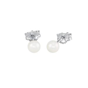 Mabina Orecchini Argento - Perla 4 mm