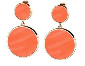 Morellato Orecchini Perfetta (Pendenti Rosé Gold, Color Corallo)