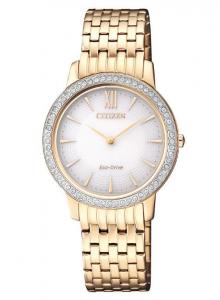 Citizen Lady Collection (Cassa acciaio I.P oro, quadrante bianco)