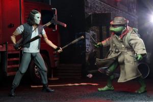 Teenage Mutant Ninja Turtles Movie 1990 -  2-Pack Casey Jones & Raphael in Disguise by Neca