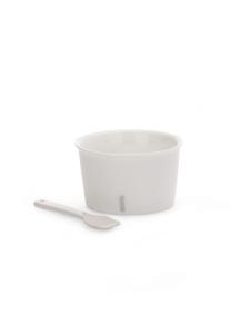 Servizio gelato e palette in porcellana di Seletti