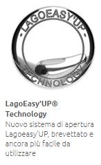 LAGOSTINA PENTOLA A PRESSIONE IRRADIAL CONTROL LAGOEASY 'UP LITRI 5 DIAMETRO CM. 22 010040010505