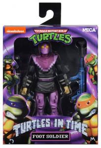 Teenage Mutant Ninja Turtles: Turtles in Time Action Figures Series 1 FOOT SOLDIER by Neca
