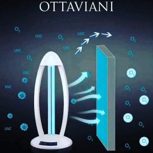 Lampada Ottaviani, Sanificante all'UV ed Ozono