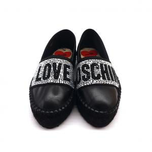 Espadrillas nera Love Moschino
