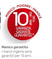 LAGOSTINA MANICO UNIVERSALE  INGENIO REMOVIBILE  BLISTERATO 090244220000