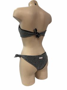 Bikini a fascia lurex