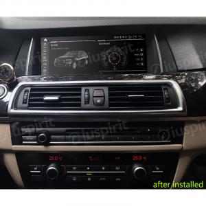 ANDROID 10 navigatore per BMW Serie 5 F10 F11 2013-2016 Sistema originale NBT 10.25 pollici WI-FI GPS 4G LTE Bluetooth MirrorLink 4GB RAM 64GB ROM