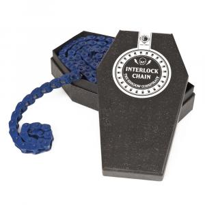 Shadow Interlock V2 Colored Catena Bmx | Colore Blue