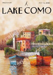 Lake Como 1 - Stampa su carta