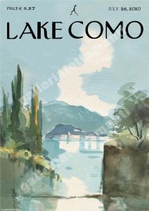 Lake Como 4 - Stampa su carta