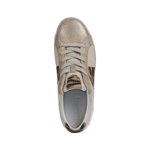 SNEAKER D WARLEY SUEDE E TESSUTO ANIMALIERE