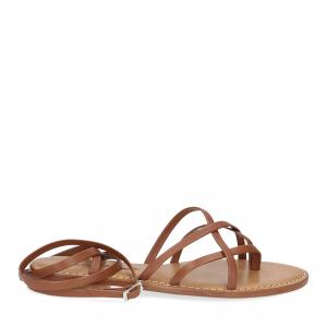 De Capri a Paris sandalo infradito 28 sandy marrone-2