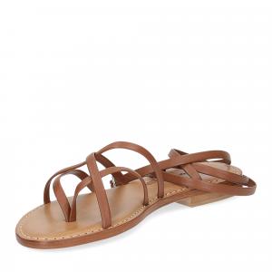 De Capri a Paris sandalo infradito 28 sandy marrone-4