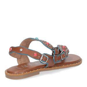 Il Laccio sandalo infradito PS5188 pelle cuoio-5