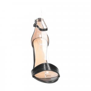 Il Laccio sandalo 1000 pelle nero-3