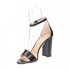 Il Laccio sandalo 1000 pelle nero-4