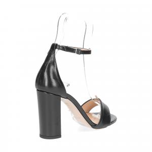 Il Laccio sandalo 1000 pelle nero-5