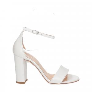 Il Laccio sandalo 1000 pelle bianco-2