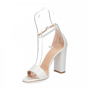 Il Laccio sandalo 1000 pelle bianco-4