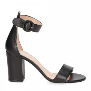 Il Laccio sandalo 1101 pelle nero-2