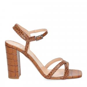 Il Laccio sandalo 1200 pelle cocco cuoio-2