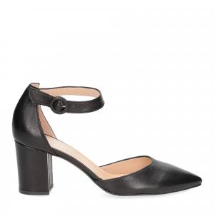 Il Laccio sandaliera 1357 pelle nero-2