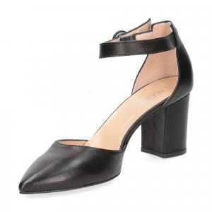 Il Laccio sandaliera 1357 pelle nero-4