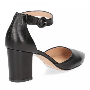 Il Laccio sandaliera 1357 pelle nero-5