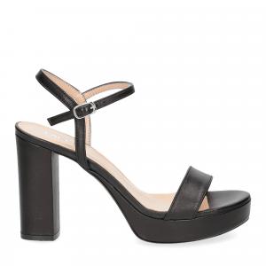 Il Laccio sandalo 2846 pelle nero-2