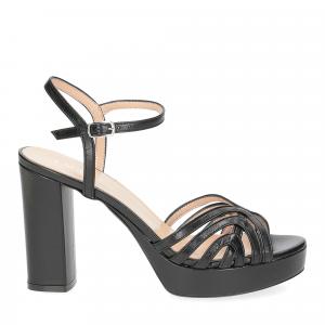 Il Laccio sandalo 2849 pelle nero-2