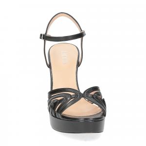 Il Laccio sandalo 2849 pelle nero-3