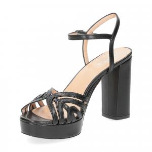 Il Laccio sandalo 2849 pelle nero-4