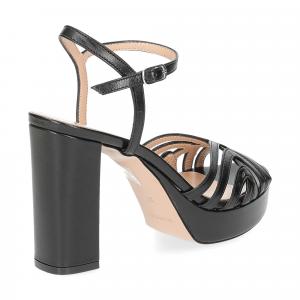 Il Laccio sandalo 2849 pelle nero-5